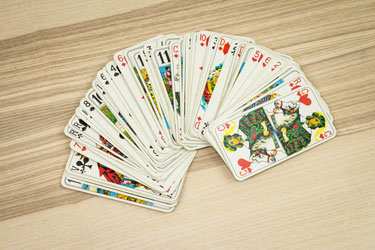 fortune readings with playing cards